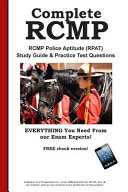 Complete RCMP  RCMP Police Aptitude  RPAT  Study Guide   Practice Test Questions