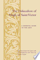 The Didascalicon of Hugh of St  Victor