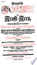 Evangelische Schlußkett Und Krafft-Kern