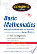 Schaum s Outline of Basic Mathematics with Applications to Science and Technology  2ed