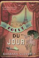 Folly Du Jour Folies Bergere Paris December 1926 Joe
