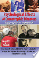 Psychological Effects Of Catastrophic Disasters