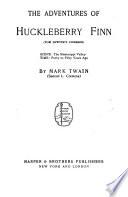 The Writings of Mark Twain  The adventures of Huckleberry Finn