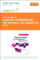 Pharmacology For Physical Thetherapists
