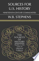 Sources for U.S. History Contemporary Sources For Research Into The