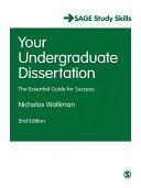 Your Undergraduate Dissertation