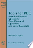 Tools for PDE