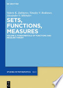 Fundamentals of Functions and Measure Theory