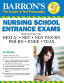 Barron s Nursing School Entrance Exams