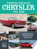 Standard Catalog of Chrysler  1914 2000