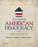 Investigating American Democracy