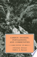 Carbon Dioxide Populations And Communities book