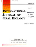 International Journal of Oral Biology
