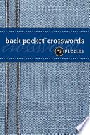 Back Pocket Crosswords