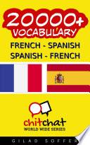 20000  French   Spanish Spanish   French Vocabulary