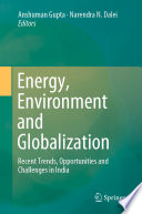 Energy Environment And Globalization