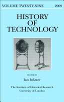 History of Technology Book