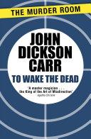 To Wake The Dead Book PDF