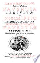 THESAVRVS ANTIQVITATVM ET HISTORIARVM ITALIAE, Quo continentur Optimi quique Scriptores, Qui BONONIAE, VRBIVM STATVS ECCLESIASTICI ET ALIARVM AD MARE ADRIATICVM, Confiniumque Popularum ac Civitatium Res Antiquas, aliasque vario tempore gestas, memoriae prodiderunt