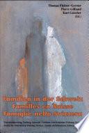 illustration du livre Famiglie nella Svizzera