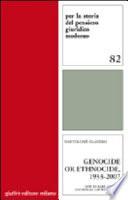 Genocide Or Ethnocide  1933 2007