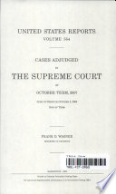 United States Reports, V. 554, Cases Adjudged in the Supreme Court at October Term, 2007, June 16 Through October 3, 2008, End of Term
