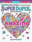 Notebook Doodles Super Duper Coloring   Activity Book