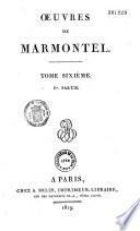 Oeuvres de Marmontel...