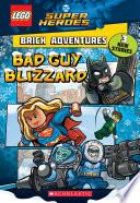 Bad Guy Blizzard Lego Dc Comics Super Heroes Brick Adventures
