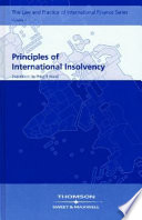 Principles of International Insolvency