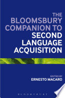 The Continuum Companion to Second Language Acquisition