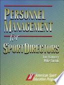 Personnel Management for Sport Directors