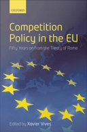 Competition Policy in the EU Book