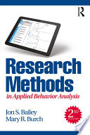 Research Methods In Applied Behavior Analysis book
