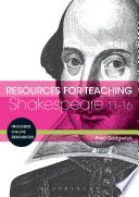 Resources for Teaching Shakespeare  11 16 Book PDF