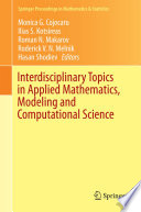 Interdisciplinary Topics in Applied Mathematics  Modeling and Computational Science