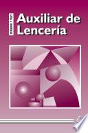 Auxiliar de Lenceria  Temario Y Test  E book