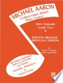 Michael Aaron Piano Course Spanish English Edition Curso Para Piano Book 2