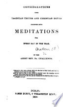 Meditations For Every Day In The Year
