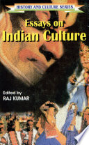 Essays on Indian Culture