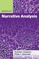 Essentials Of Narrative Analysis