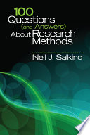100 Questions (and Answers) About Research Methods