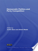 Democratic Politics and Party Competition