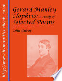 Gerard Manley Hopkins  A Study of Selected Poems