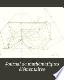 Journal de math  matiques   l  mentaires