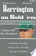 Harrington on Hold  Em  the Workbook
