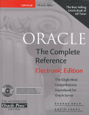 Oracle Oracle Commands Functions Syntax Key