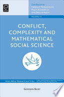 Conflict  Complexity and Mathematical Social Science