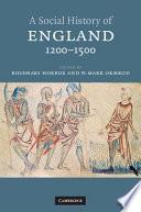 A Social History Of England 1200 1500