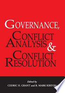 Governance Conflict Analysis And Conflict Resolution